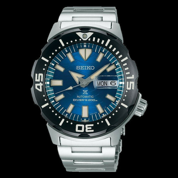 Jewelry & Watches:Watches, Parts & Accessories:Wristwatches - Seiko SE STO GWS Blue Monster Gen 4 Diver's 200M Men's Watch SRPE09K1
