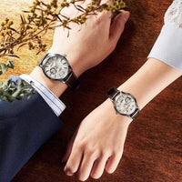 Jewelry & Watches:Watches, Parts & Accessories:Wristwatches - Seiko StarBar LE Presage Honeycomb Open Heart Couple's Watch Set SSA409J1 + SSA781J1