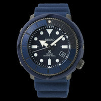 Jewelry & Watches:Watches, Parts & Accessories:Wristwatches - Seiko Street Series Solar Tuna Blue Prospex Diver's Men's Watch SNE533P1