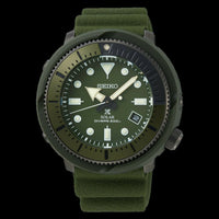 Jewelry & Watches:Watches, Parts & Accessories:Wristwatches - Seiko Street Series Solar Tuna Green Prospex Diver's Men's Watch SNE535P1