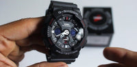 Casio G-Shock GA120 Model Black x Red x Grey x White Accents Watch Last Dance GA120-1ADR - Diligence1International