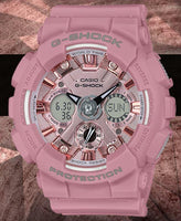 Casio G-Shock Sneaker S Series Anadigi Pastel Pink Ladies' Watch GMAS120DP-4ADR - Diligence1International