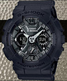 Casio G-Shock Black Stealth Series Anadigi Black Metallic Face Ladies' Watch GMAS120MF-1ADR - Diligence1International