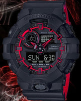 Casio G-Shock Special Color Model Black x Red Watch Last Dance GA700SE-1A4DR - Diligence1International
