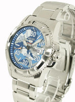 Seiko 5 Sports Military 100M Camo Blue Dial Automatic Men's Watch SRP223K1 - Diligence1International