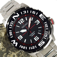 Seiko Field Monster Automatic 100M Men's Stainless Strap Watch SRP445K1 - Diligence1International
