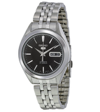 Seiko 5 Classic Men's Size Black Dial Stainless Steel Strap Watch SNKL23K1 - Diligence1International
