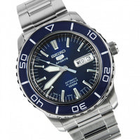 Seiko 5 Sports Japan Made Blue 55 Fathoms Men's Watch SNZH53J1 - Diligence1International