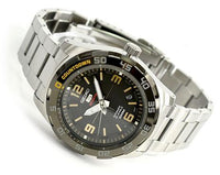 Seiko 5 Sports 100M Automatic Watch Black Dial Stainless Steel Strap SRPB83K1