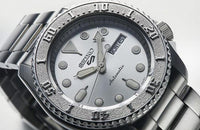 NEW Seiko 5 Sports 100M Automatic Men's Watch All Stainless Steel SRPE71K1 - Diligence1International