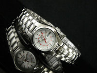 Seiko 5 Classic Ladies Size Silver Dial Stainless Steel Strap Watch SYMC21K1 - Diligence1International