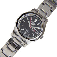 Seiko 5 Classic Ladies Size Black Dial Stainless Steel Strap Watch SYMD95K1 - Diligence1International