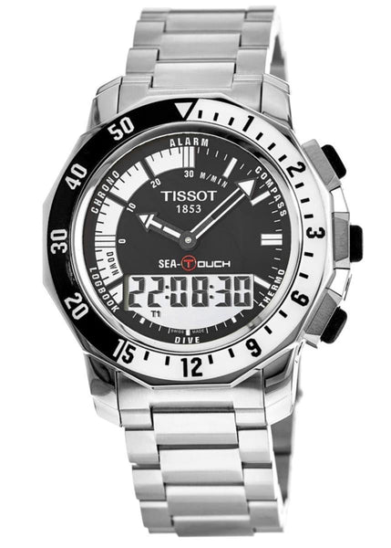 Tissot Swiss Made Sea-Touch Anadigi Men's Stainless Steel Watch T026.420.11.051.00 - Diligence1International