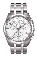 Tissot Swiss Made T-Trend Couturier GMT Chronograph Men's Stainless Steel Watch T0354391103100 - Diligence1International