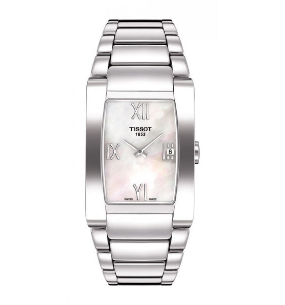 Tissot Swiss Made T-Trend Generosi-T Ladies' Stainless Steel Watch T0073091111300 - Diligence1International