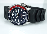 Seiko Pepsi SKX Diver's 200M Men's Rubber+Engineer Type II 316L S/S Strap Watch SKX009K1 - Diligence1International