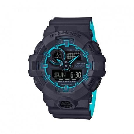 Casio G-Shock Special Color Model Black x Neon Blue Watch Tron GA700SE-1A2DR - Diligence1International