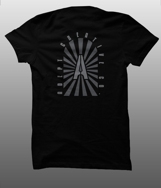 ADEPT TRAILBLAZER TEE BLACKOUT