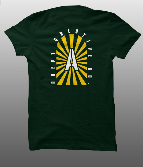ADEPT TRAILBLAZER TEE FOREST