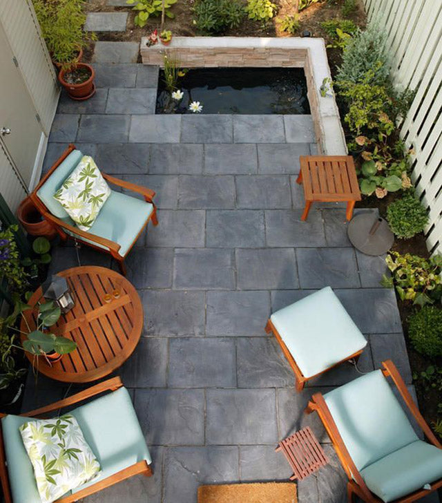 Ideas para decorar el piso del patio dobleuu for Decoracion de pisos exteriores