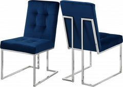 ALEXIS NAVY BLUE CHAIR