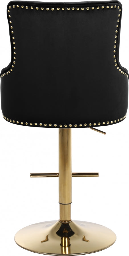 CLAUDE BLACK STOOL ALTURA AJUSTABLE