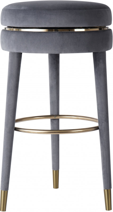 CORAL COUNTER STOOL GREY