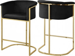 DONATELLA BLACK STOOL