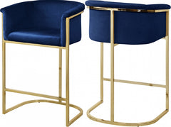 DONATELLA NAVY STOOL