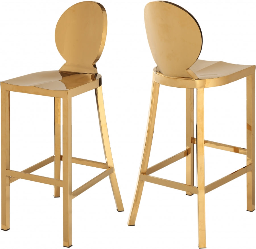 MADDOX GOLD BAR STOOL