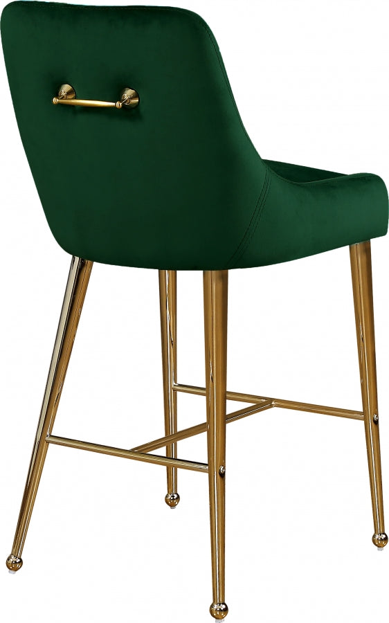 OWEN GREEN COUNTER STOOL
