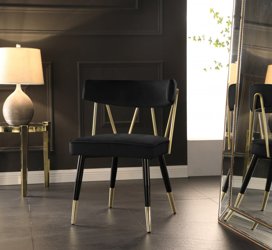 RHEINGOLD BLACK CHAIR