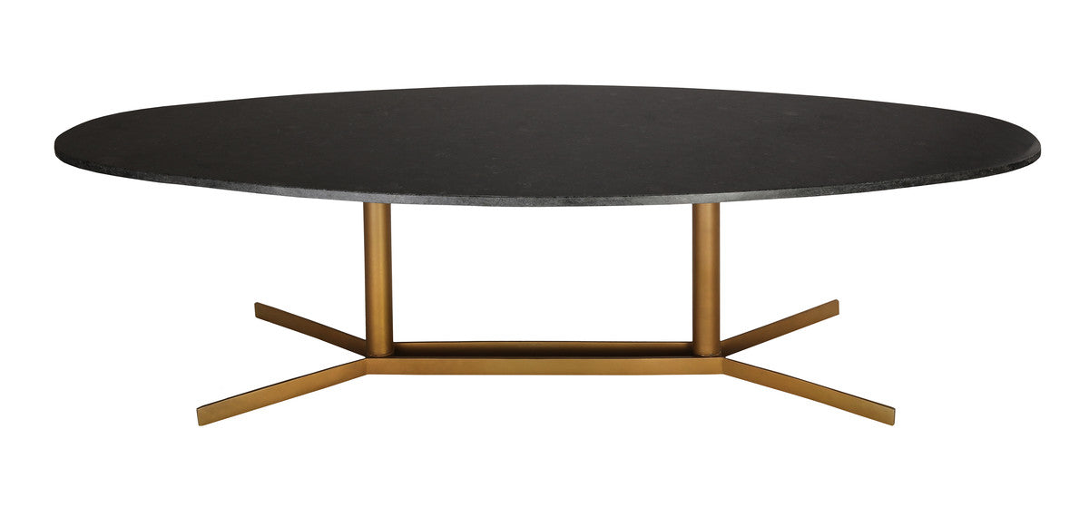 GEMMA BLACK MARBLE COFFEE TABLE