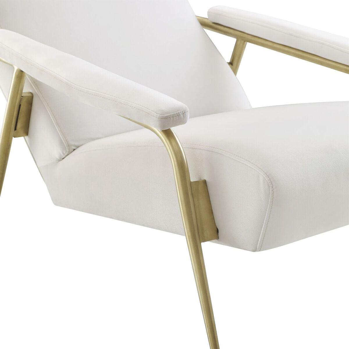 Abbey cream Velvet Chair