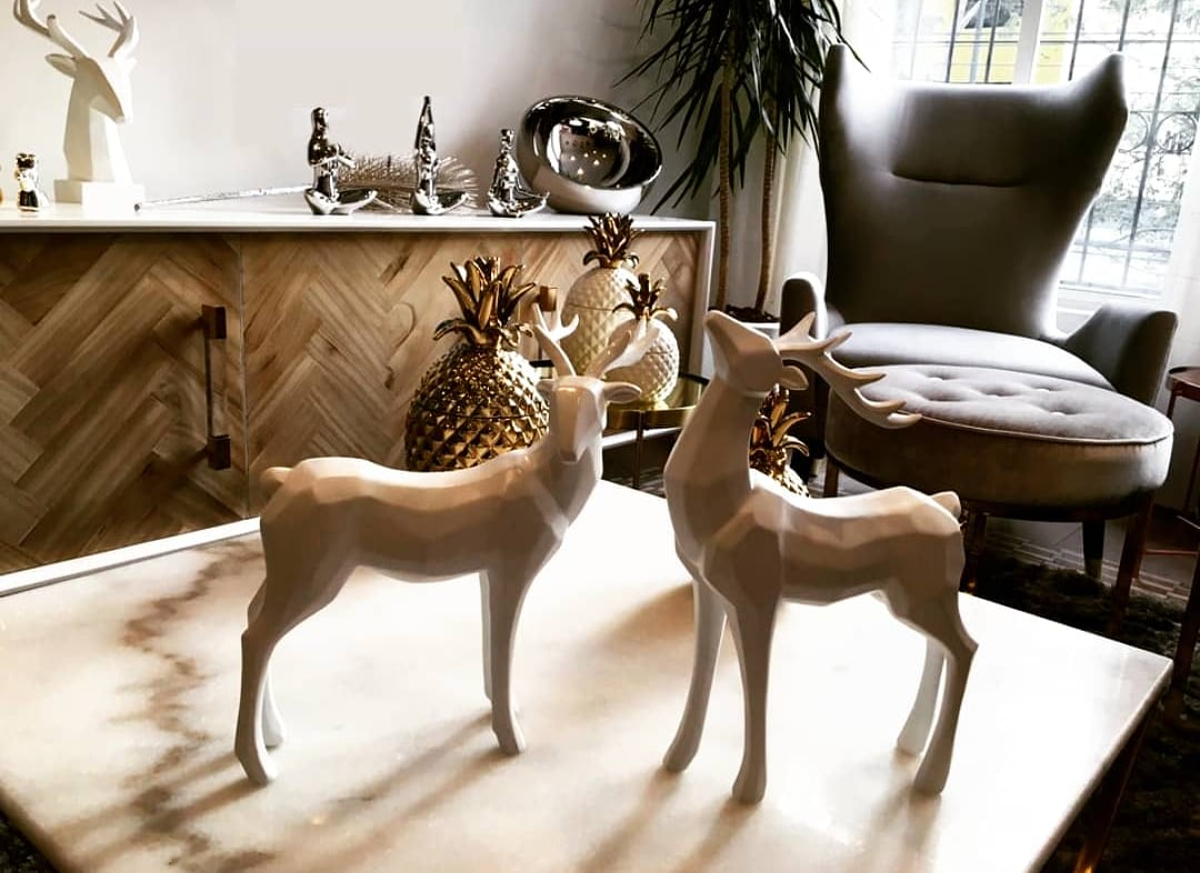 STAG DECOR - HEAD UP