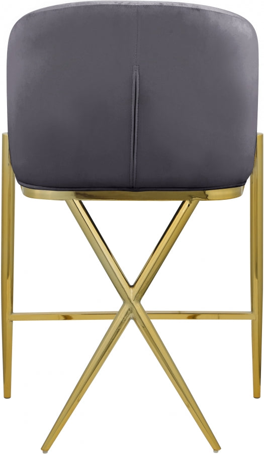 XAVIER GREY COUNTER STOOL