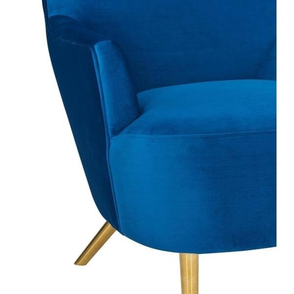 Julia navy wingback