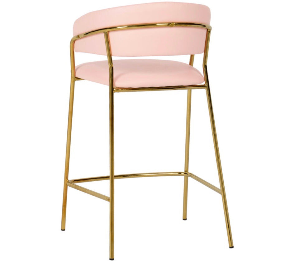 Padma blush counter stool