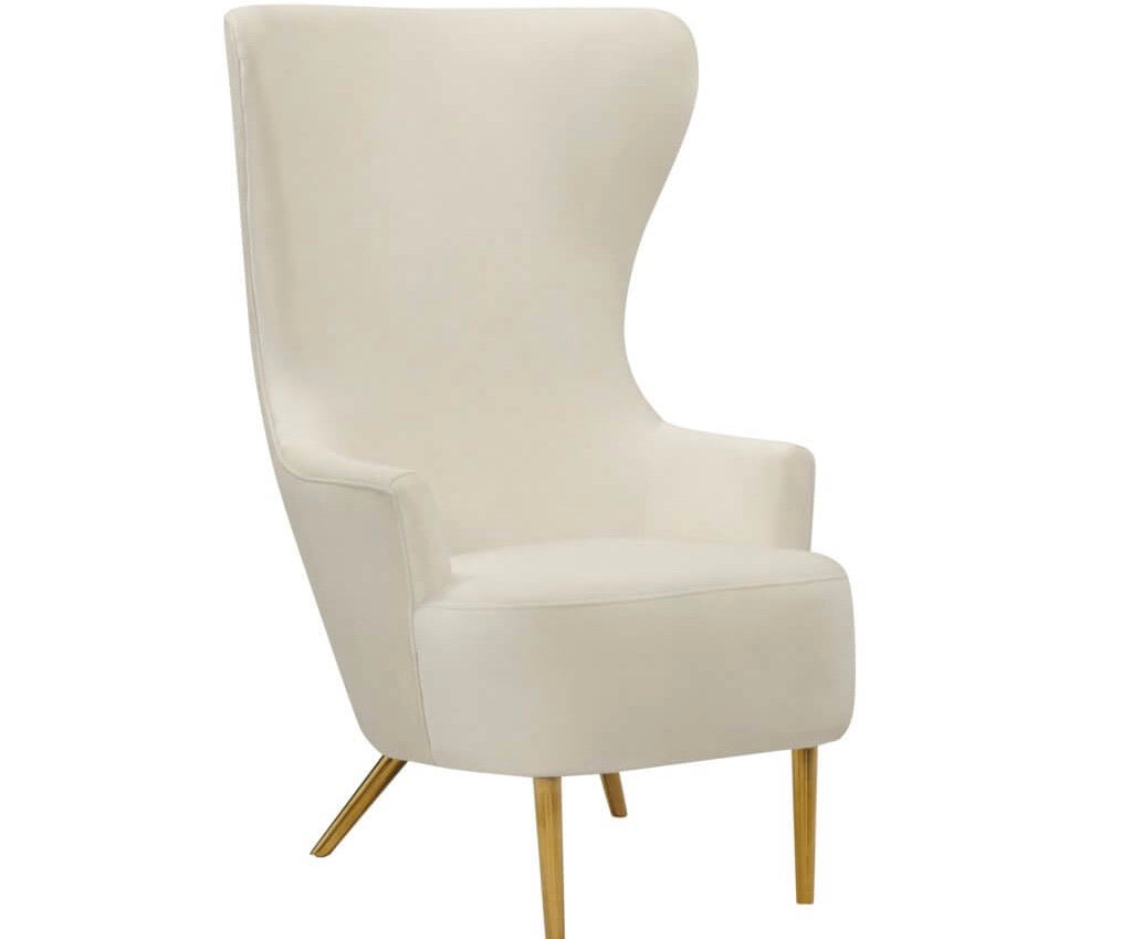 Julia cream wingback