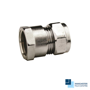 Chrome Straight Adaptor CxFi