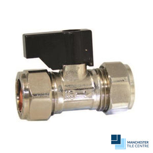 Chrome Isolating Valve with Lever