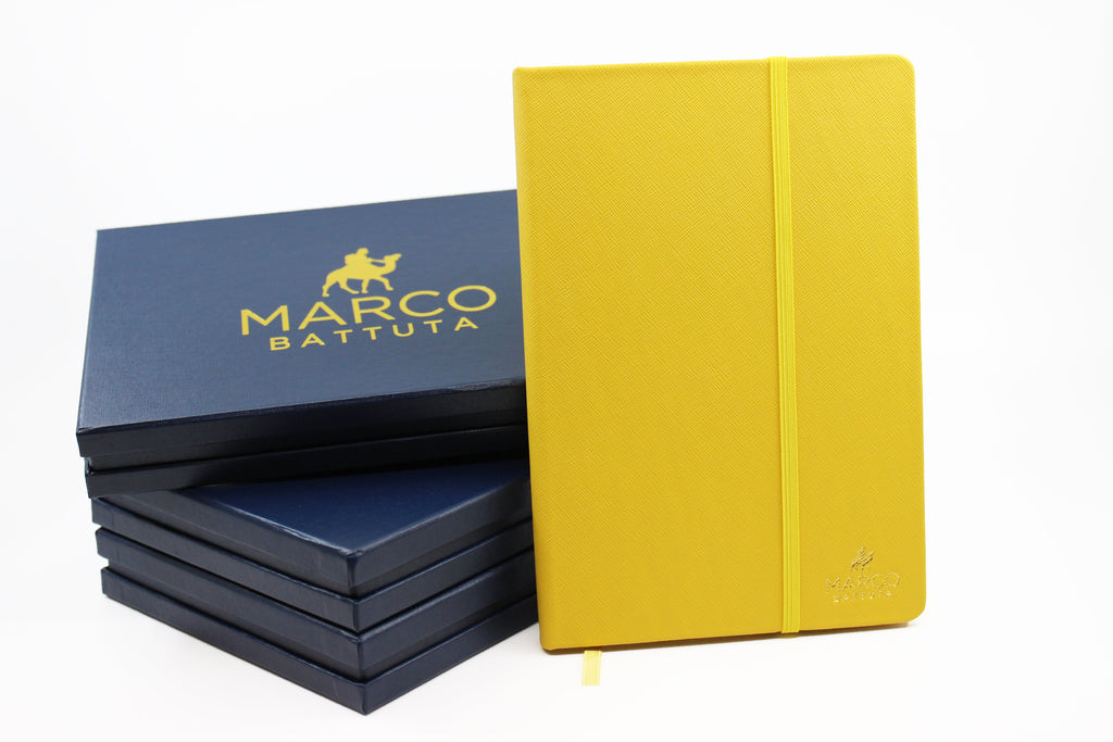 Tuscan Yellow - Genuine Leather Journal - SimCorner Canada
