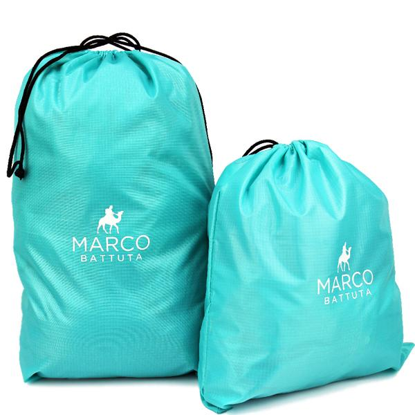 Laundry Bags 2 Piece Set - Turquoise Green - SimCorner Canada