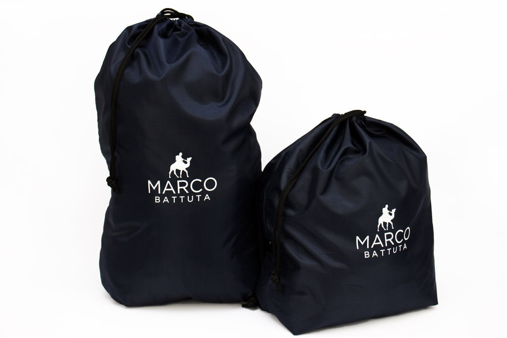 Laundry Bags 2 Piece Set - Navy Blue - SimCorner Canada