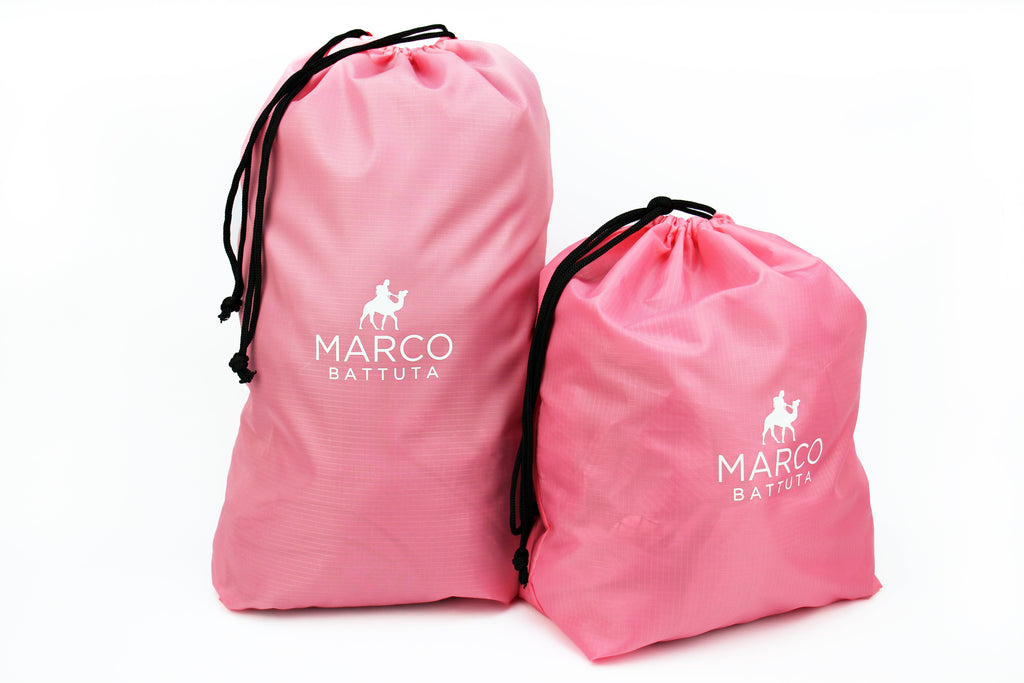 Laundry Bags 2 Piece Set - Candy Pink - SimCorner Canada