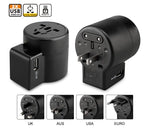 Simcorner - Universal Travel Power Adapter with USB