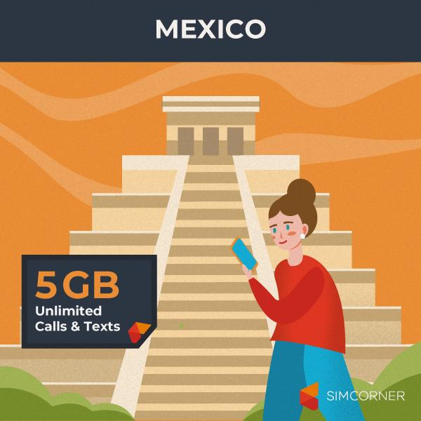 Mexico Travel Sim Card - SimCorner Canada