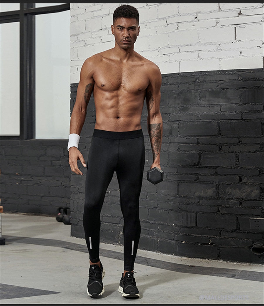Black Compression Pants