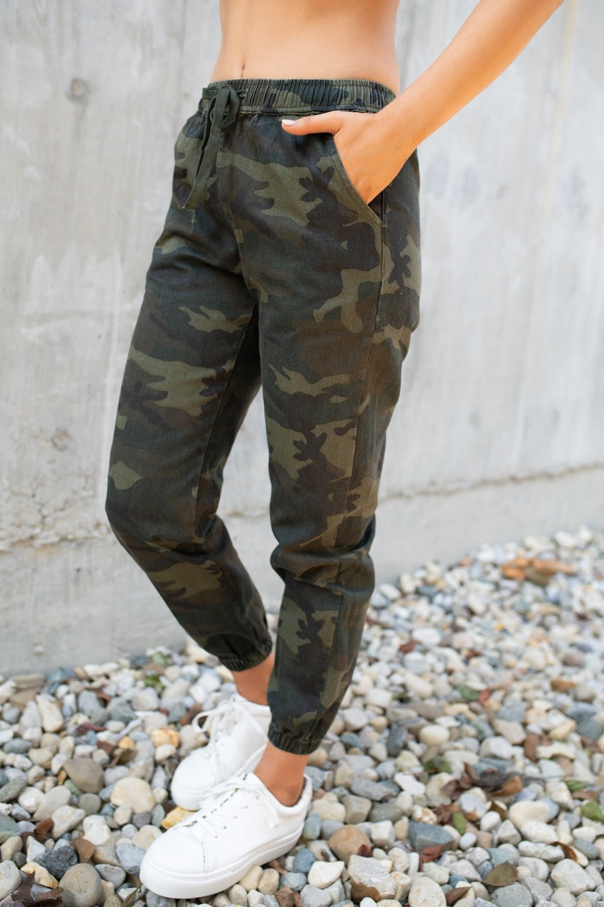 Camo Sweat Pants