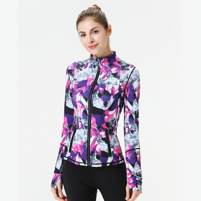 StereoScopic Dry Fit Fitness Jacket